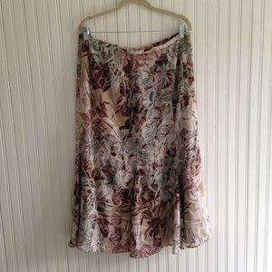 Jones New York | Flowy Skirt 14 formal business